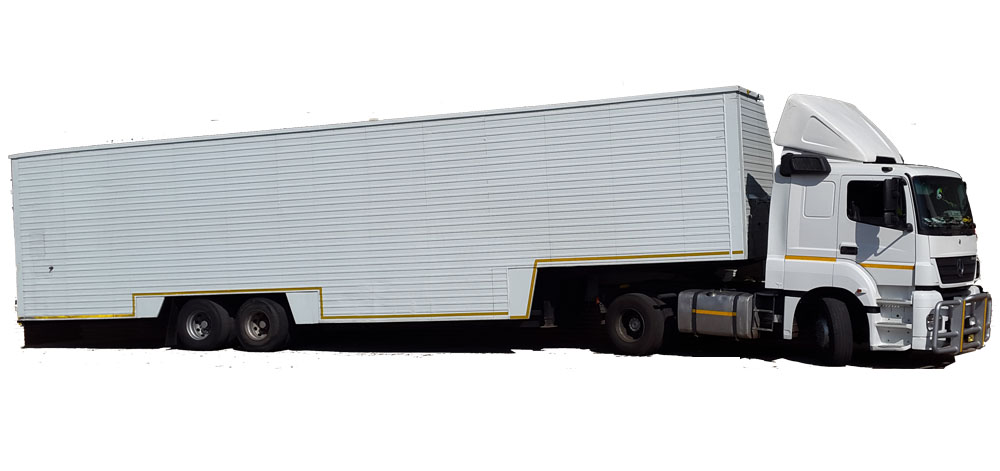20 Ton Panelvan Closed